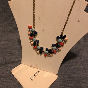 J Crew NWT Multi color necklace
